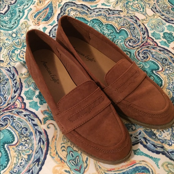 c0b4f03ae1a American Eagle By Payless Shoes - American Eagle (Payless) Suede Penny  Loafers
