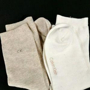 Calvin Klein Two pack slim socks