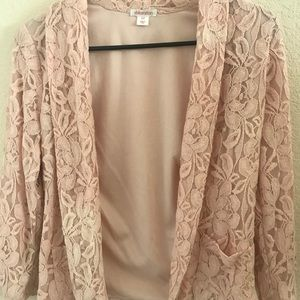 Women's lace blazer