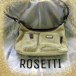Rosetti Straw Purse