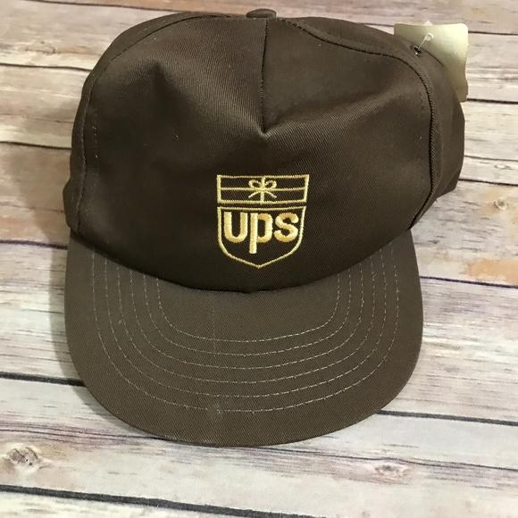 e35c3979d02 Vintage 90s UPS United Parcel Service Snapback Hat