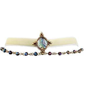 Jewelry - Velvet choker beads