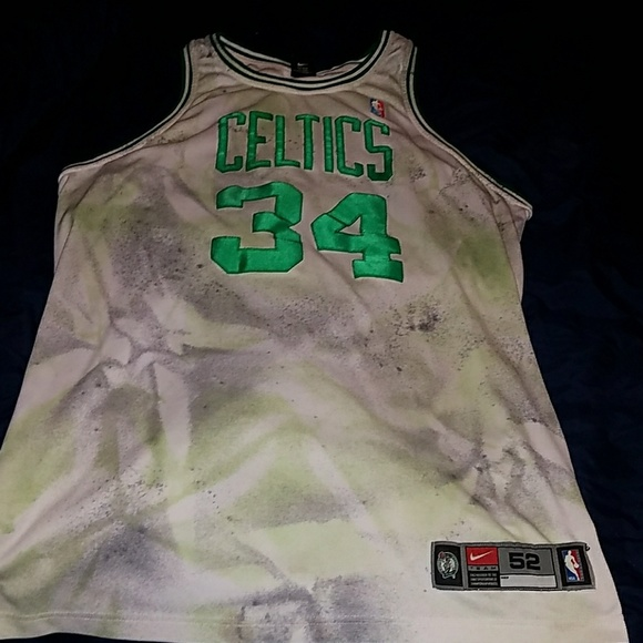 reputable site 733ab d1393 Paul pierce authentic Nike basketball jersey
