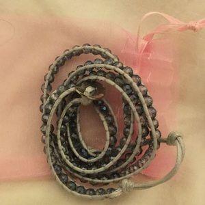 Jewelry - Blue wrap bracelet