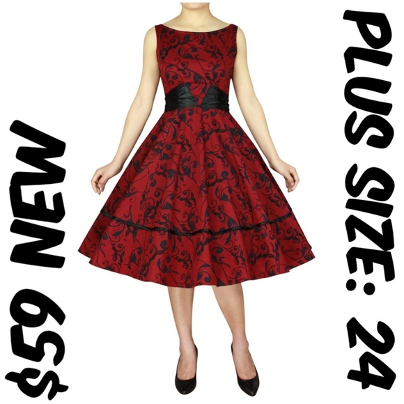 Vintage 50s Plus Size Dresses