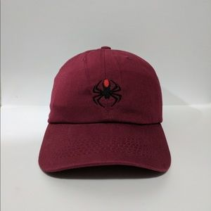 Other - Spider embroidered polo dad hat