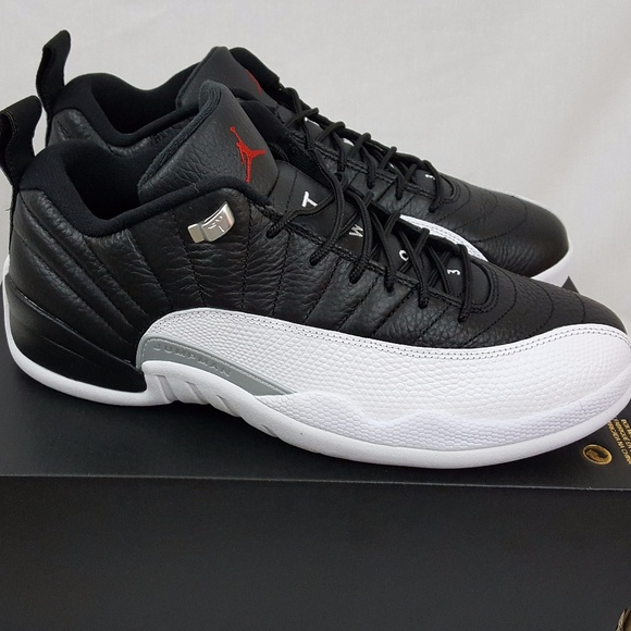 new arrival c84f9 326d5 Nike Air Jordan 12 XII Retro Low Playoffs