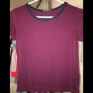 Tee shirt small striped