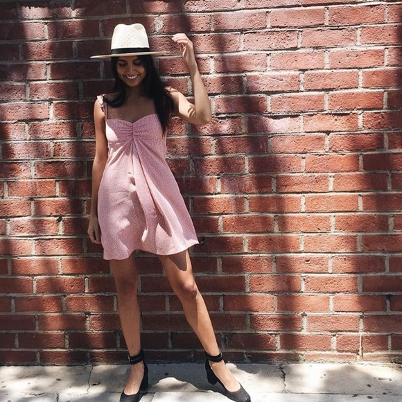 065f331689cd Flynn Skye Dresses | Nwt Carla Mini Dress In Pink Circle | Poshmark