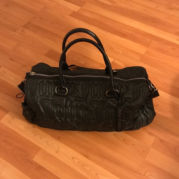 Juicy Couture Handbags - ♥️Juicy Couture Quilted Duffle Bag in Nylon Black a491563ef750