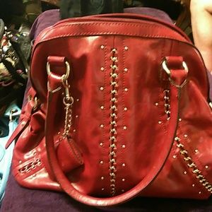 Handbags - Deep red purse
