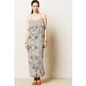 Anthropologie Vanessa Virginia Maxi Dress Size 10