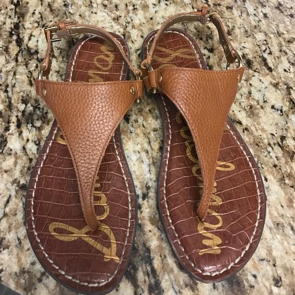 Sam Edelman Greta Harness Ring Leather Thong Sandals iPFyGT