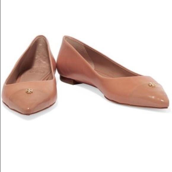ce5520f7e32 Tory Burch pointed toe flats. M 597b47502de51229bc023ad0