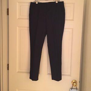 Vince Camuto Cotton Navy Pants