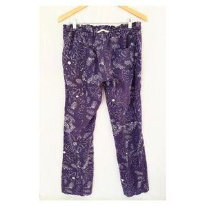 e4109ab856 Roxy Pants | Oceanside Pant Astral Aura Batik Print Lg | Poshmark