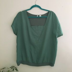 Anthropologie top by Moth