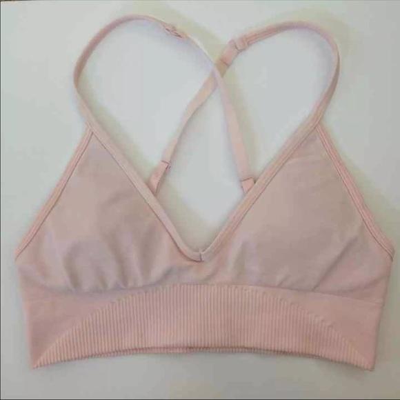 3a91c09fb7 lululemon athletica Other - Petal pink Lululemon EUC Ebb to Street Bra