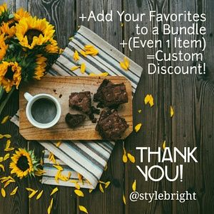 Other - Custom Discount Sale Just for you!