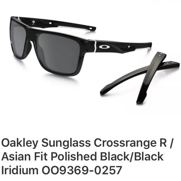 oakley crosshair asian fit