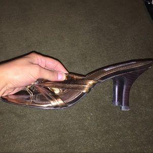Steve Madden Shoes - Steve Madden mule sandals, bronze, W9