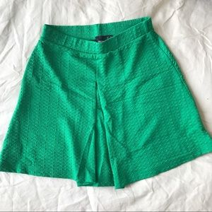 NWOT ASOS Textured Skirt with Center Pleat