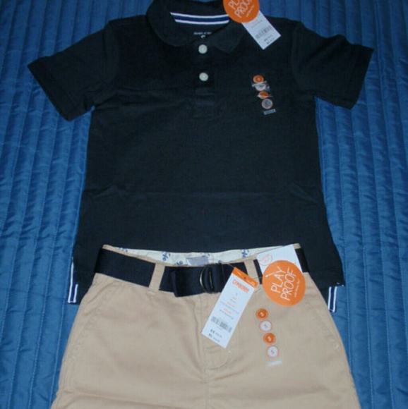 Gymboree Boys school Uniform Navy Belted Twill Short  4 5 6 7