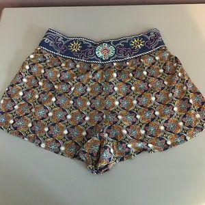 Pants - Flying Tomato Flowy Shorts M