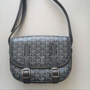 81adb60dd208 Handbags - Goyard Belvedere Mini PM Grey Crossbody Bag