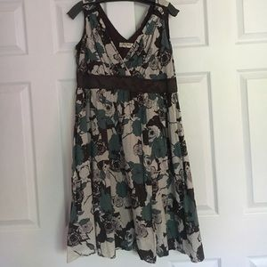 Romy Floral High Wasted Dress