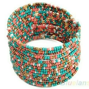 Jewelry - Multicolored Beaded Boho Bracelet