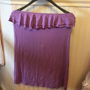 Victoria's Secret strapless coverup