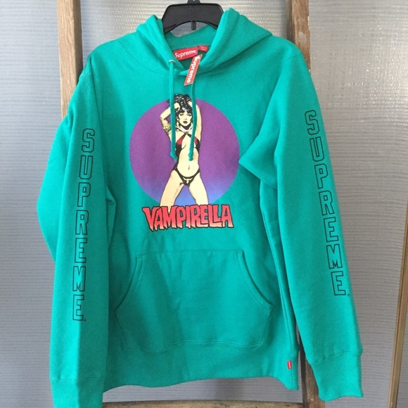 87f45d1b0bcb67 Supreme x Vampirella hooded sweatshirt