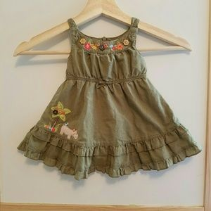 Other - SAFARI applique baby dress
