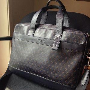 Coach Hudson Laptop/briefcase Bag