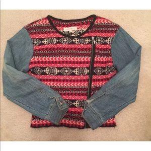Sahaja Nature Women's Large Jacket Wool Denim