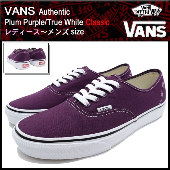 bc34605ada30 Dark Purple Vans MENS 6 WOMENS 7.5. M 597b811a3c6f9f19f90324a4