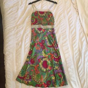 Perfect condition Miguelina silk slip dress size 0