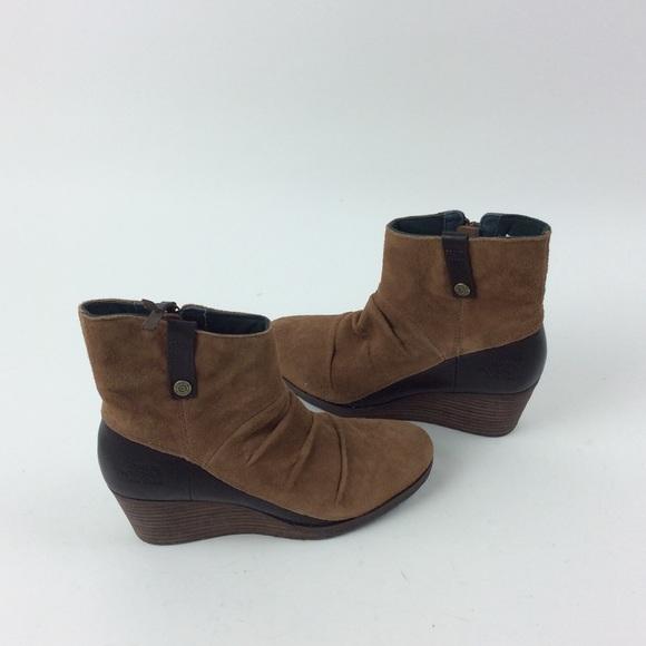 30fb146b38a7 New North Face Bridgeton Wedge Zip Boots