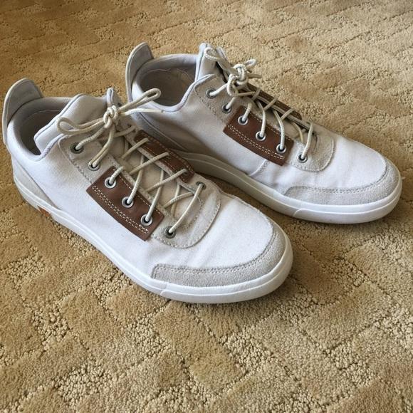 Timberland Men's Amherst Canvas Chukka Shoes Grey