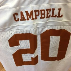 sports shoes f3504 363ab NEW Vintage Earl Campbell Texas Longhorns Jersey NWT