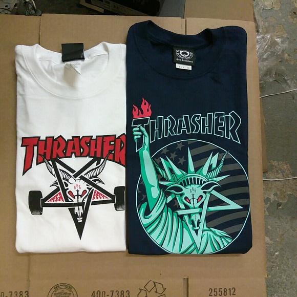 35d5b24a Supreme Shirts | Thrasher Goat Classic Logo Bundle | Poshmark