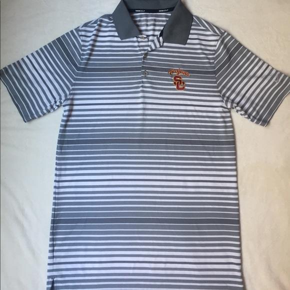 a1a7ef4a09 USC Nike Men's golf polo shirt
