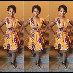 Dresses & Skirts - African print dress
