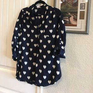 EUC stitch fix pixley medium blouse