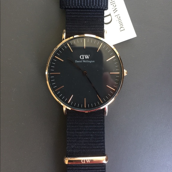 Daniel Wellington Jewelry - Daniel Wellington Black 36MM Cornwall Watch