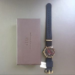 Daniel Wellington Black 36MM Cornwall Watch