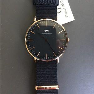 Daniel Wellington Jewelry - Daniel Wellington Black 36MM Cornwall Watch