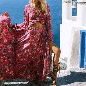 SPELL and the GYPSY Lovebird Maxi Skirt