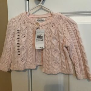 Two, 6mo baby girl sweaters